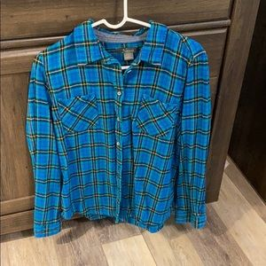 Women's Plaid Button Up